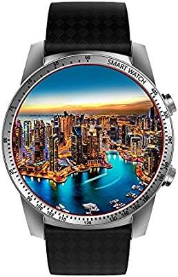 TOOGOO KW99 Android 5.1 Reloj Inteligente 3G MTK6580 8GB Bluetooth ...