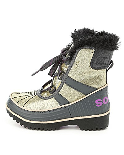 SOREL Kids Girl's Tivoli? II  Pale Gold/Razzle Boot 10 Toddl