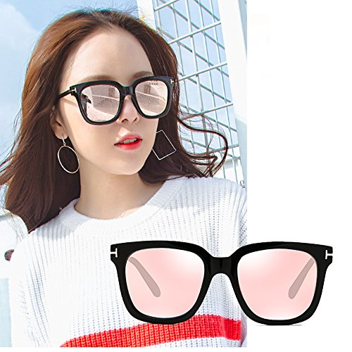 UV Rosa ConduccióN De Gafas Sol 100 Redondas TESITE Polarizadas Femeninas Anti Espejo Gafas De H7TxWwqA