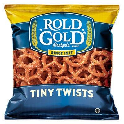 Rold Gold Tiny Twists Pretzels, 1 oz Bag, 88/Carton