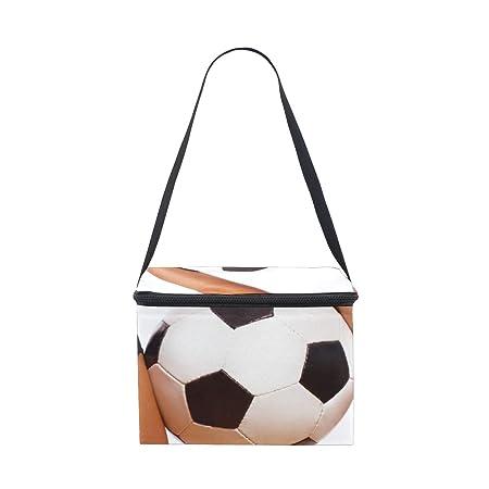 Bolsa de almuerzo Sexy Niña con Balón de Fútbol enfriador para ...