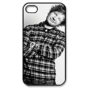 Iphone 4,4S 2D Custom Hard Back Durable Phone Case with Ed Sheeran Image