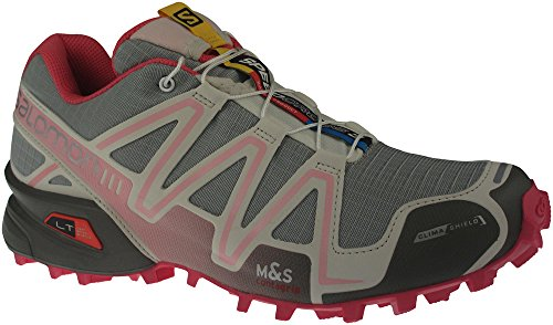 check out 04f48 167d1 Salomon Women s Speedcross 3 CS Trail Running Shoe, Green Clay Light Grey Sakura  Pink, 7.5 M US - Buy Online in UAE.   Shoes Products in the UAE - See ...