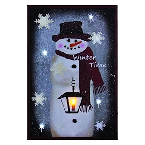 Winter Snowman Lantern Light up Decoration product image