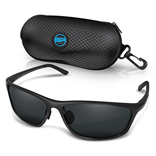 BLUPOND RALLY Polarized Driving Sunglasses, Metal Frame Glasses for Driving Fishing Shooting with Anti-Glare UV400 Lenses Includes 5 IN 1 Accessories - Rally Sunglasses