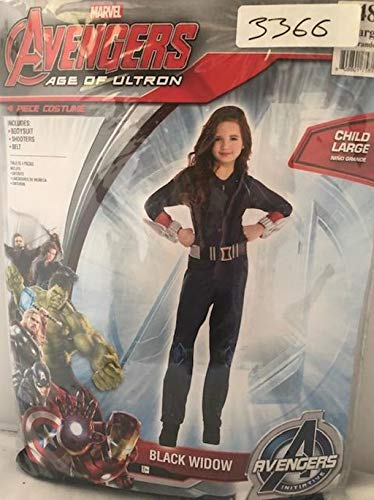 Black Widow Avengers Age Of Ultron Costumes - Child's Avengers Age of Ultron Black