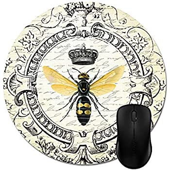 Amazon Com Julyou Modern Vintage French Queen Bee Mouse Pads