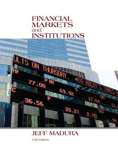 Financial Markets and Institutions (with Stock Trak - Coupon Warehouse