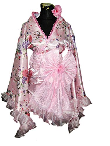 Japan Lolita Kimono Maid Dress Cosplay Costume