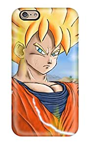 Iphone 6 Cover Case - Eco-friendly Packaging(super Saiyan Goku )