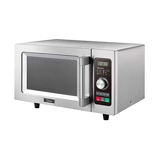 Midea 1025F2A 1025F1A Commercial Microwave, Stainless Steel
