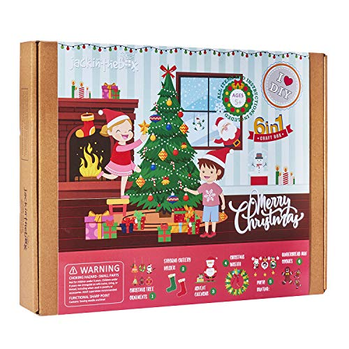 Christmas Crafts Kit for Kids ~ Includes 6 Craft Projects Now $11.19 (Was $29.99)