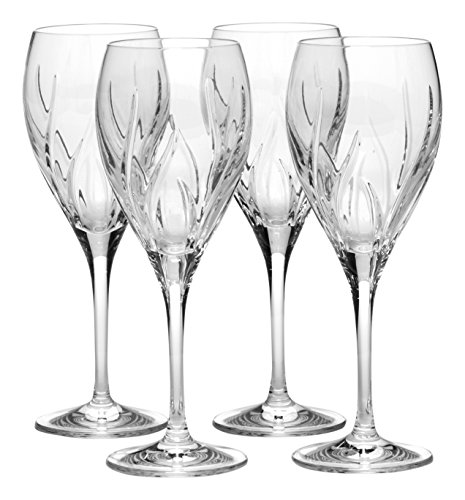 Mikasa Agena Crystal Drinking Goblet, 10.25-Ounce, Set of 4 For Sale