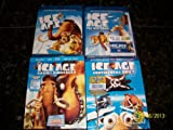 Ice Age, Ice Age 2 The Meltdown, Ice Age 3 Dawn of the Dinosours, Ice Age 4 Continental Drift
