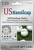 Golfer Gift Card: USGA Handicap Club Membership