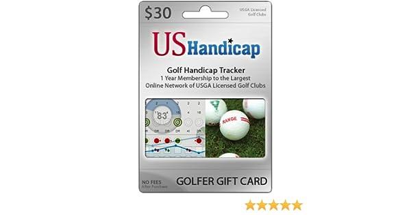 Amazon.com : Golfer Gift Card: USGA Handicap Club Membership ...
