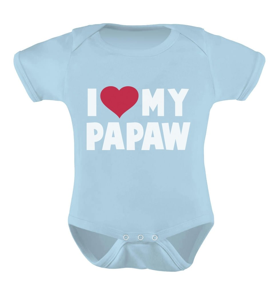 TeeStars – I Love My Papaw for Grandpa Baby Bodysuit