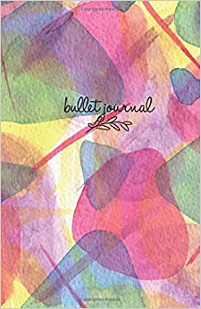 Descargar Bullet Journal: Colorful Design Cover 5,5