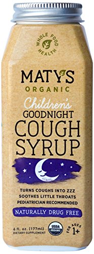 Matys Organic Children's Goodnight Cough Syrup, 6 Fluid Ounce