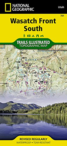 Wasatch Front South  National Geographic Trails Illustrated Map