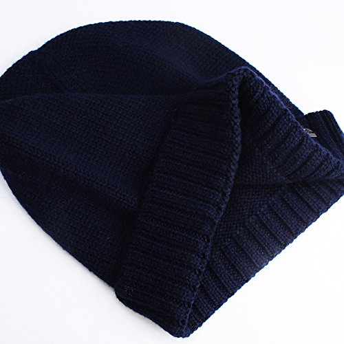 0ed460dd29b10 Knit Winter Hat For Men- Mens Cashmere And Wool Beanie Hats Skull Caps  FURTALK Original
