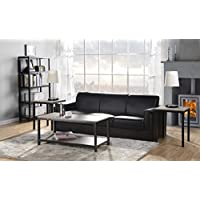 Homestar 3-PC Coffee Table & Side Table Set in Reclaimed Wood