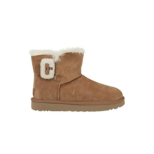 Buckle Mini ChestnutAmazon Bailey Fluff ukShoes Boots co Ugg QrCthds