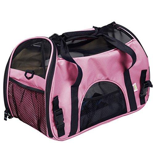 super-buy-large-pet-carrier-oxford-soft-sided-cat-dog-comfort-travel-tote-shoulder-bag-pink