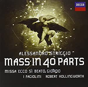 Striggio: 40 Part Mass [CD/DVD Combo]