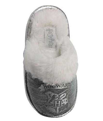 Socks Uwear Harry Potter Girls Hayes Hogwarts Faux Fur Mule Slippers