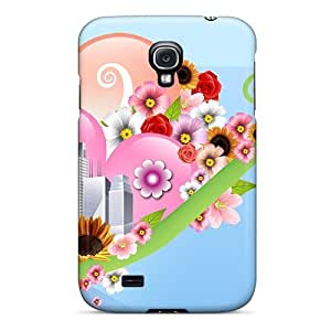 DaMMeke ASbXhhK474mksSN Case Cover Galaxy S4 Protective Case Urban Garden