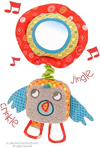 Little Bird Told Me LB3036 Birdy Bear Musical Pull Toy Baby Toy Prodotto