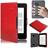 Case Capa Kindle 8a Geração WB Auto Liga/Desliga - Hands Free Vermelha
