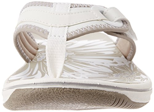 CLARKS Clarks Ladies Sandal Brinkley Mila White