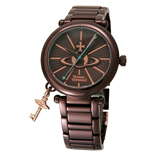Vivienne Westwood watch VV006KBR Kensington BRIP Brown Dial Quartz Ladies VV006KBR Ladies