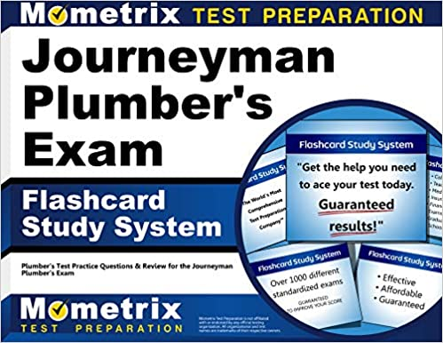 Journeyman Plumber S Exam Flashcard Study System Plumber S Test Practice Questions Review For The Journeyman Plumber S Exam Cards Plumber S Exam Secrets Test Prep Team 9781610725705 Amazon Com Books