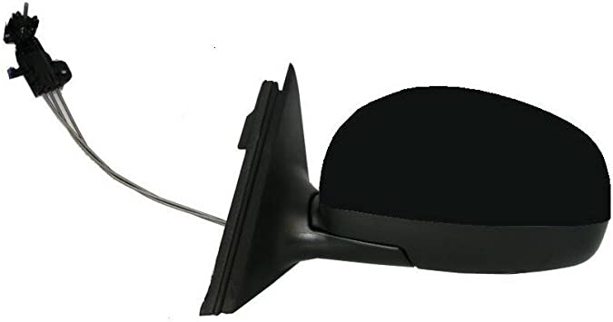Left Hand NS Wing Mirror Unit Electric Black 3 Pin Citroen C3 Picasso 09