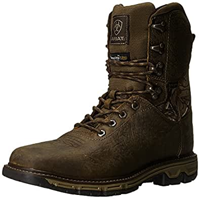 "Amazon.com | Ariat Men's Conquest 8"" H2O Insulated 400g"