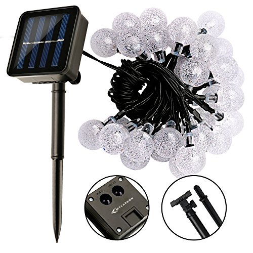 Outdoor String Lights Philippines: Solar Powered Garden Lights MYCARBON Solar Lights Outdoor