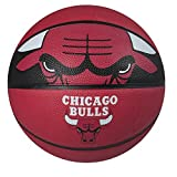 Spalding NBA Courtside Team Outdoor Rubber Basketball Chicago Bulls Official