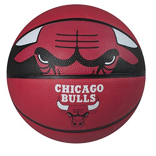 fan products of Spalding NBA Courtside Team Outdoor Rubber Basketball Chicago Bulls Official