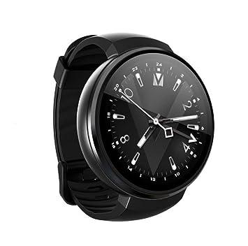 STEAM PANDA Relojes Inteligentes para Hombres GPS Monitor de Ritmo cardíaco para Hombres Podómetro DDR3 1GB + EMMC16GB 2 Millones de píxeles 580mAh WLAN: ...