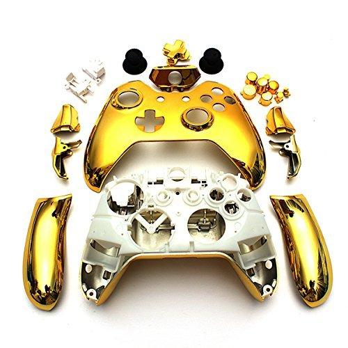 xbox 360 controller shell gold - 5