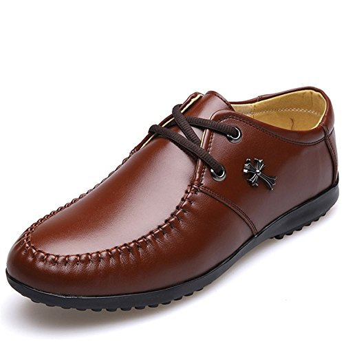 Xue Chaussures Oxfords Automne Hommes Confort Marche En Respirant B De Conduite Cuir Printemps rqxrw50X