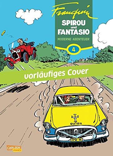 Spirou & Fantasio Gesamtausgabe 4: Moderne Abenteuer Gebundenes Buch – 1. Dezember 2015 André Franquin Carlsen 3551716242 Comic / Klassiker