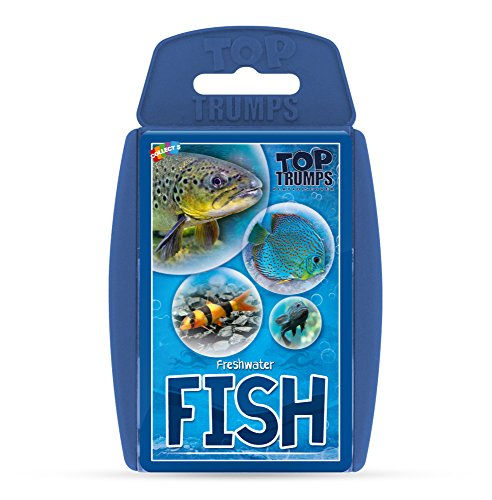 Freshwater Fish Top Trumps Card Game