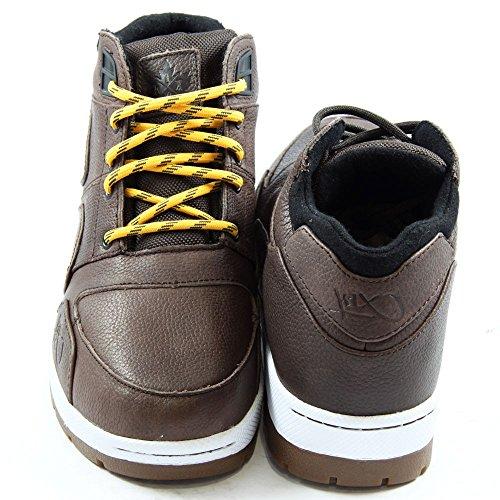 K1X h1ke allxs le Herren Hohe Sneakers Braun