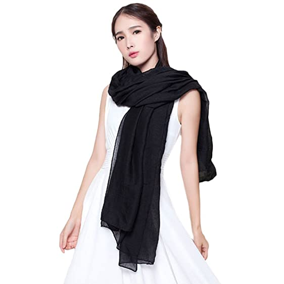 What color shawl with black dress