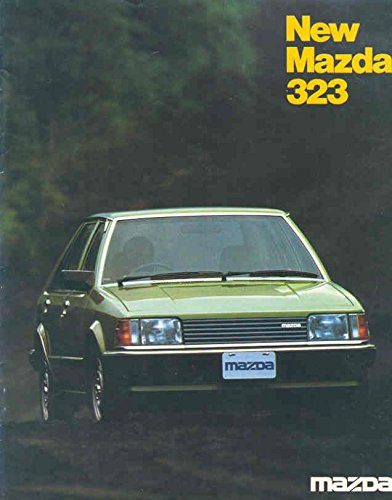 1981 Mazda 323 Sales Brochure Indonesia (Sale Indonesia)