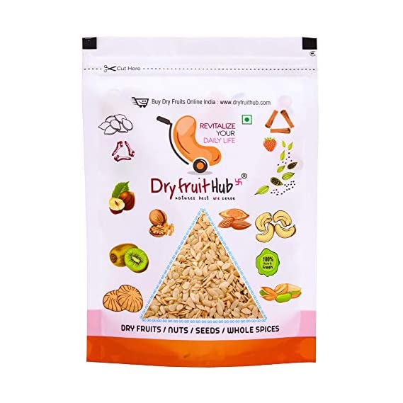 Dry Fruit Hub Muskmelon Seeds Unshelled 250gms (Kharbooz Magaz) Muskmelon Seeds Without Shell